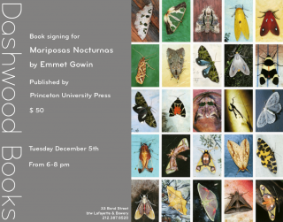 Emmet Gowin book signing for Mariposas Nocturnas