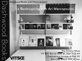 Ari Marcopoulos book signing at The Armory Show