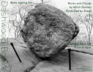 Mitch Epstein book signing for Rocks and Clouds