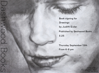 Judith Eisler book signing for Drawings
