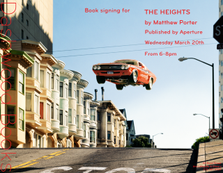 Matthew Porter book signing for The Heights