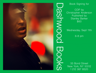 Christopher Anderson book signing for COP