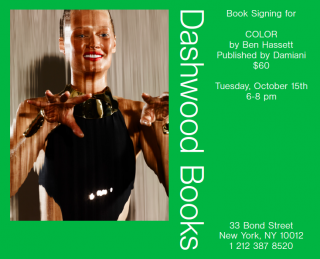 Ben Hassett book signing for Color