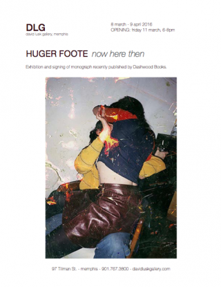 Huger Foote, Now Here Then show at David Lusk Gallery in Memphis