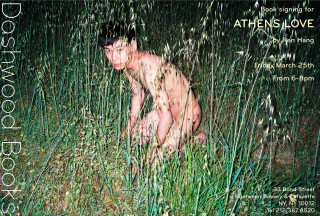Dashwood Books signing for Athens Love by Ren Hang