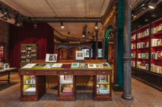 Gucci Wooster Bookstore curated by Dashwood featured in Vogue