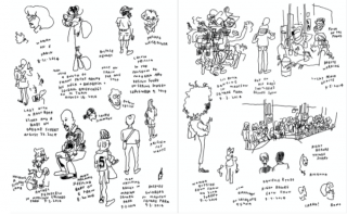 "Jason Polan ""Every Person in New York: Vol 2"" in Vanity Fair"