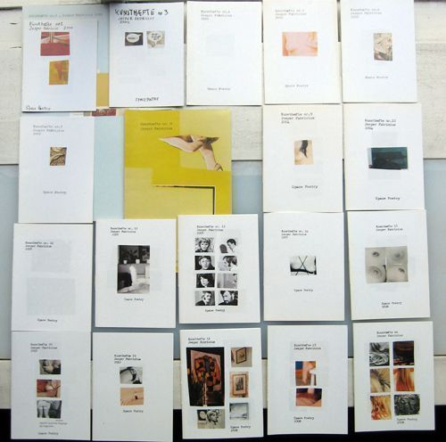 Kunsthaefte (Twenty-Two issues - complete set). Jesper Fabricius.