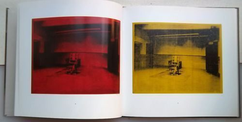 Little Electric Chair Paintings. Andy Warhol.