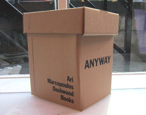 ANYWAY Limited Edition Box Set. Ari Marcopoulos.