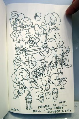 A Lot of People (Limited Edition). Jason Polan.
