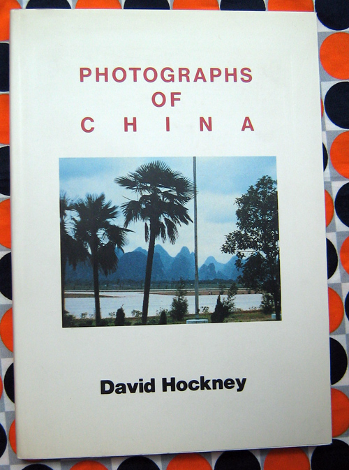 d471870c5 Image 1 of 3 for Photographs of China. David Hockney.