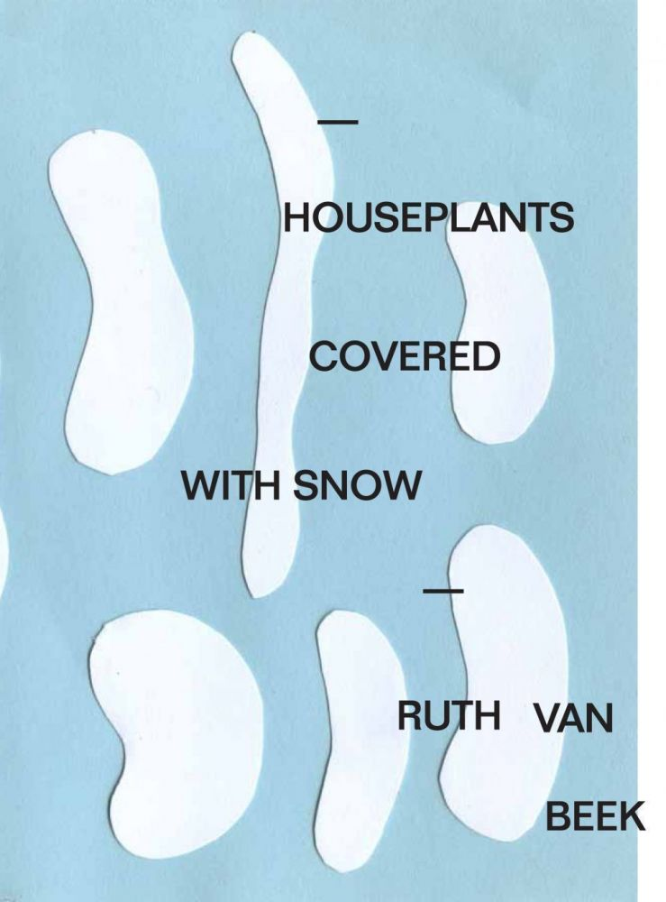 Houseplants Covered With Snow & Houseplants. Ruth Van Beek.