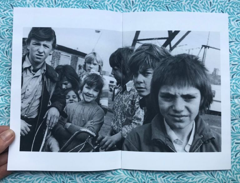 Gypsies and Travellers 1970s Childhood. Jo Spence.