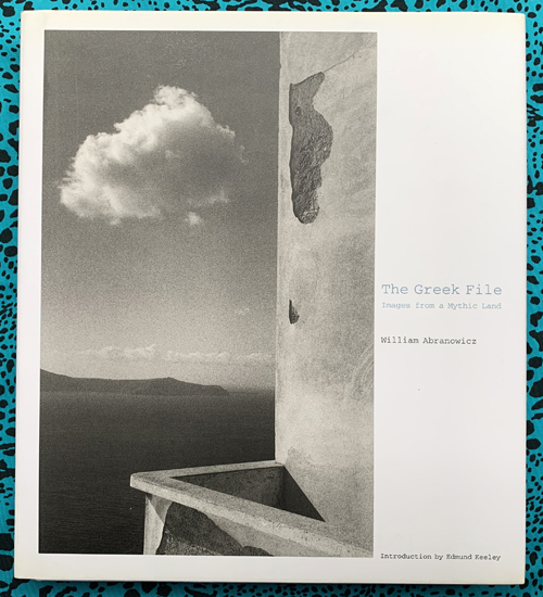 The Greek File. William Abranowicz.