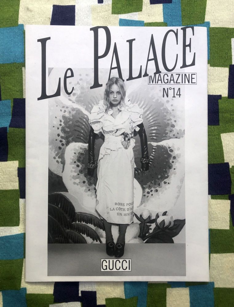 Le Palace Magazine N°14. Olivier Zahmn Martin Parr, Jean-Philippe Delhomme, Patrick Arlet.