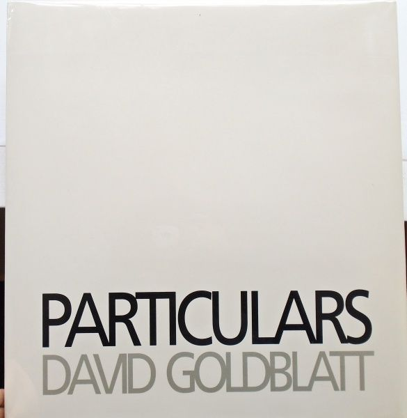 Particulars. David Goldblatt.