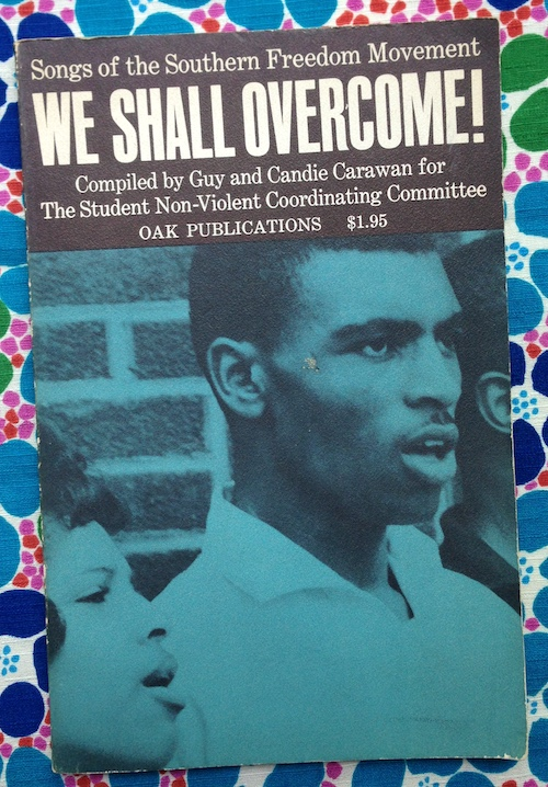 We shall Overcome!! Guy and Candie Carawan, Danny Lyon, Guy, Candie Carawan, photos.