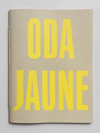 Sculptures. Camille Vivier Oda Jaune, sculptures, photographs.