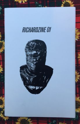 Richardzine 01. Anonymous, Jamie Fletcher.