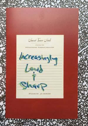 Increasingly Loud & Sharp. Aaron Stern.