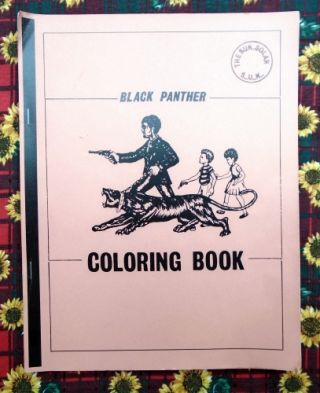 Black Panther Coloring Book. Anonymous