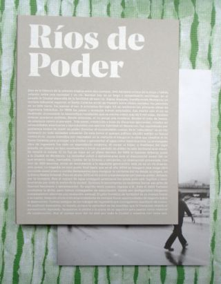Rivers of Power / Ríos de Poder. Alejandro Cartagena