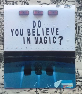 Do You Believe In Magic. Jude Star.