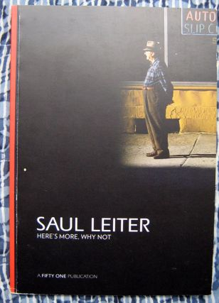Here's More, Why Not. Saul Leiter.