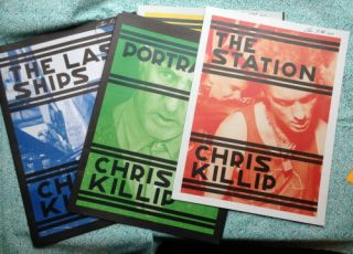 The Last Ships, Portraits, The Station, Skinningrove (Complete set of four). Chris Killip