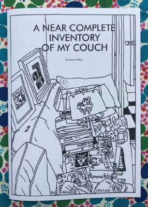 A Near Complete Inventory of my Couch. Jason Polan