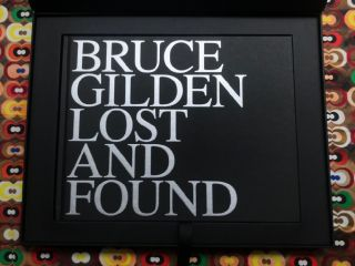 Lost and Found (special edition). Sophie Darmaillacq Bruce Gilden, Text.