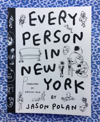 Every Person in New York vol 1. Jason Polan.
